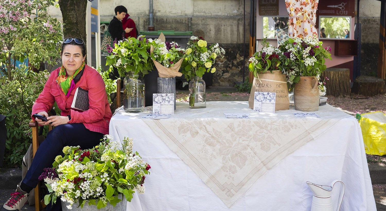 Les Fleurs D'ici, locales et de saison